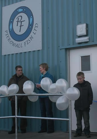 Opening ofPierowall Fish new premises